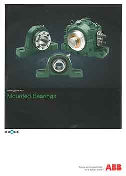 ABB Dodge Mounted Bearings