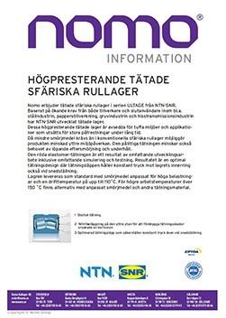 NTN-SNR Ultage Information