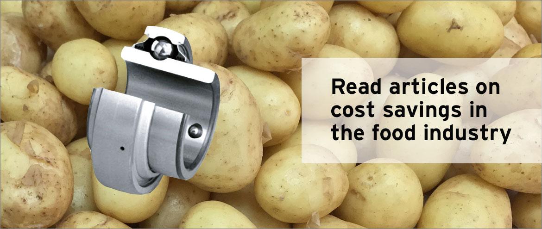 Tripple-Lip Sealed Bearing Potatoes