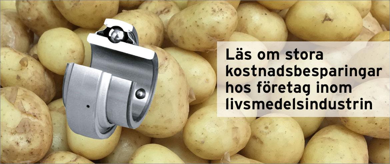 Potatis kullager
