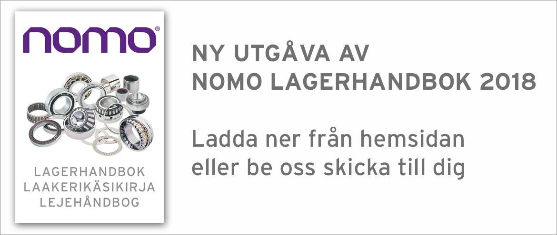 Nomo Lagerhandbok Sfärigkt rullager nållager