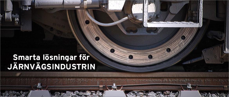 Smarta lösningar för järnvägsindustrin