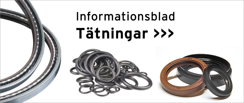 o-ringar radialtätningar tätnigar